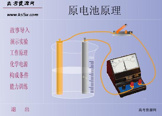 参赛课件:原电池原理(严亚东)