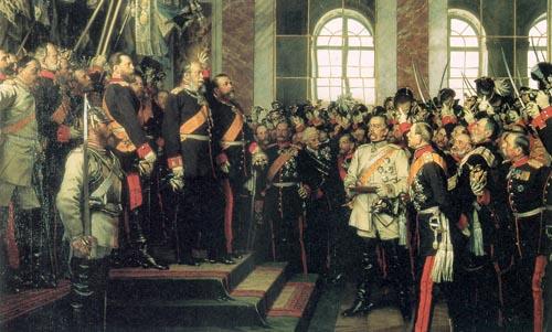 高中历史图片素材:德意志帝国宣告建立