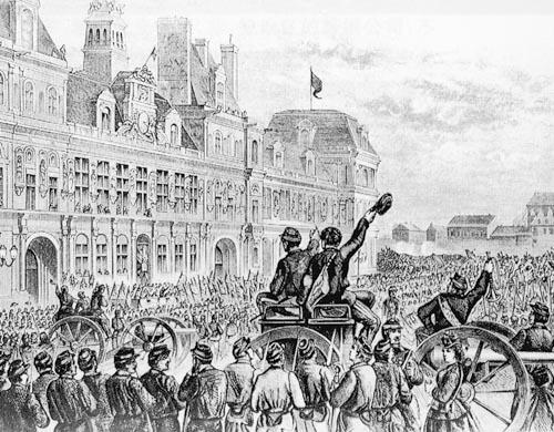 高中历史图片素材:巴黎公社成立