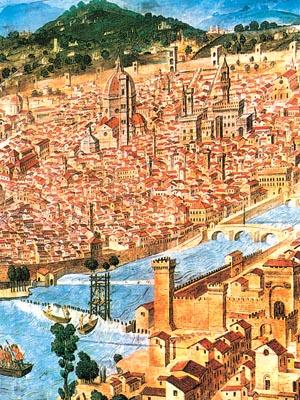 高中历史图片素材:15世纪的佛罗伦萨