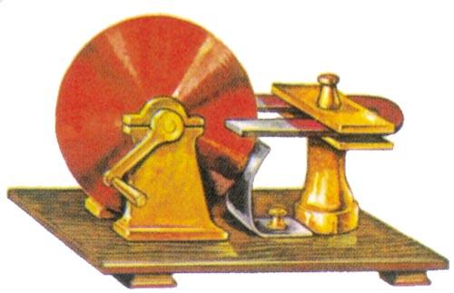 高中历史图片素材:电磁感应实验装置(模型)