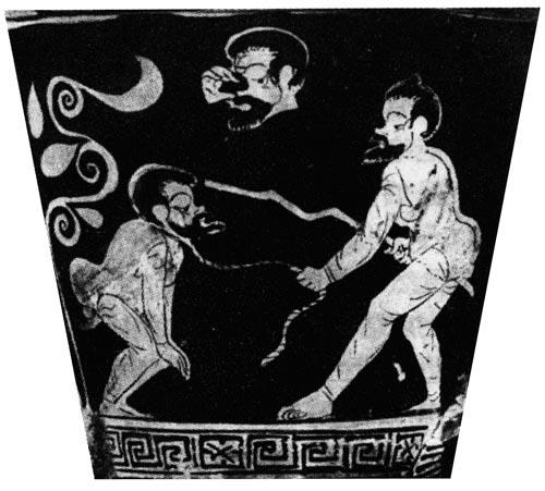 高中历史图片素材:古代希腊的奴隶市场