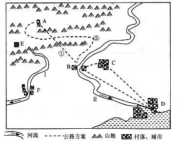 区域规划图手绘